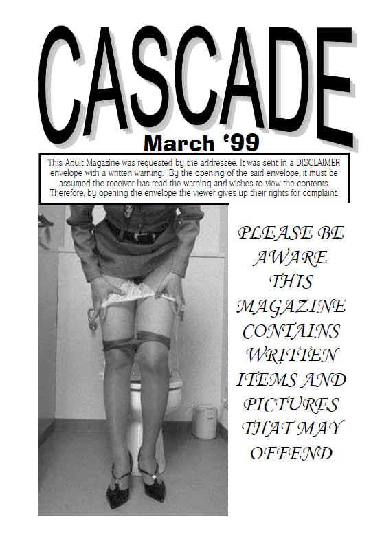 retro pissing magazine cascade 90s