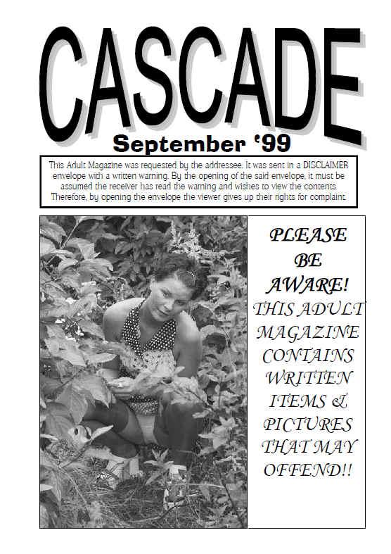 september 99 back issue of retro cascade